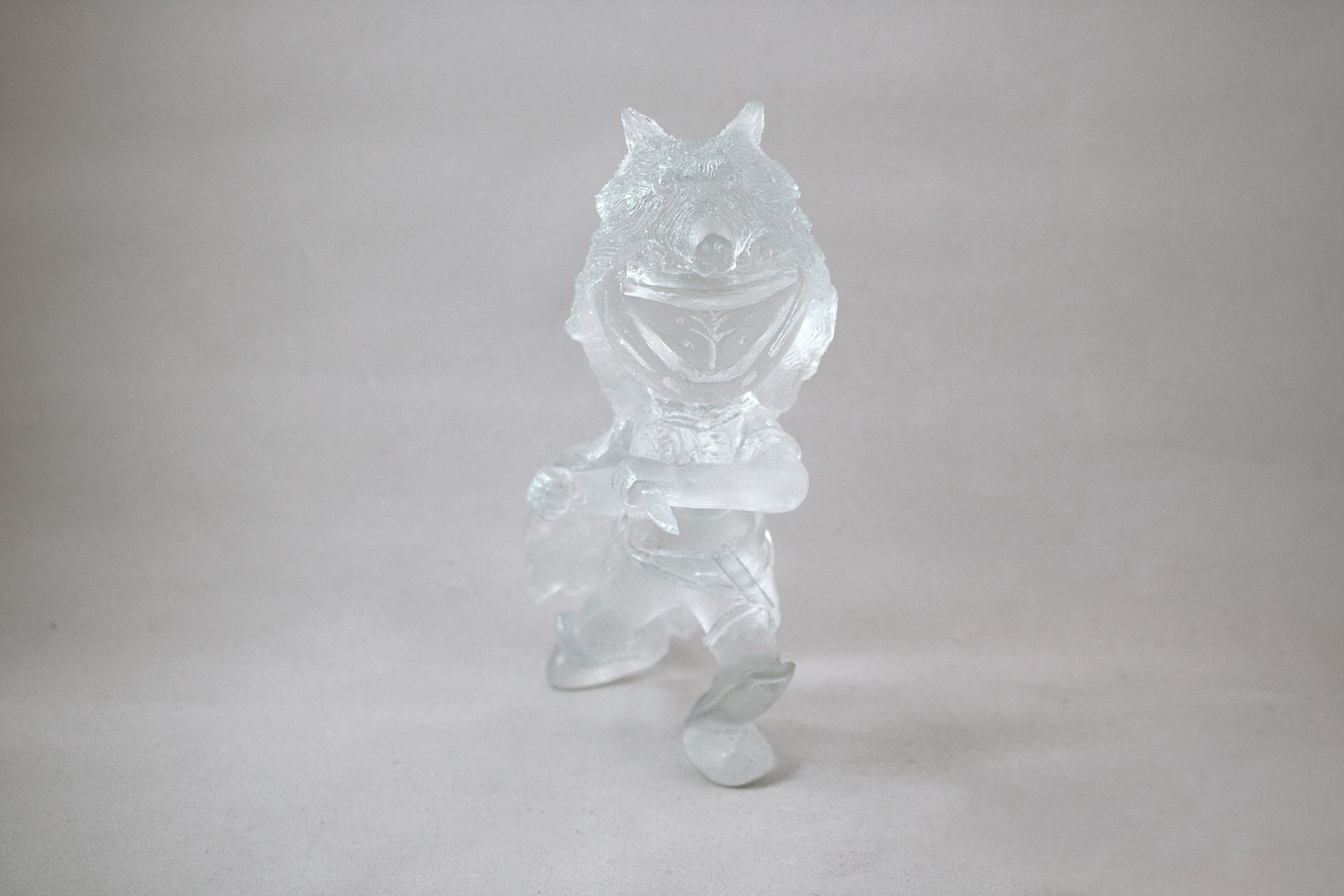 Iron Companion Hunter | Recent Work | Sven.nyc for Clear Resin Sculpture  156eri