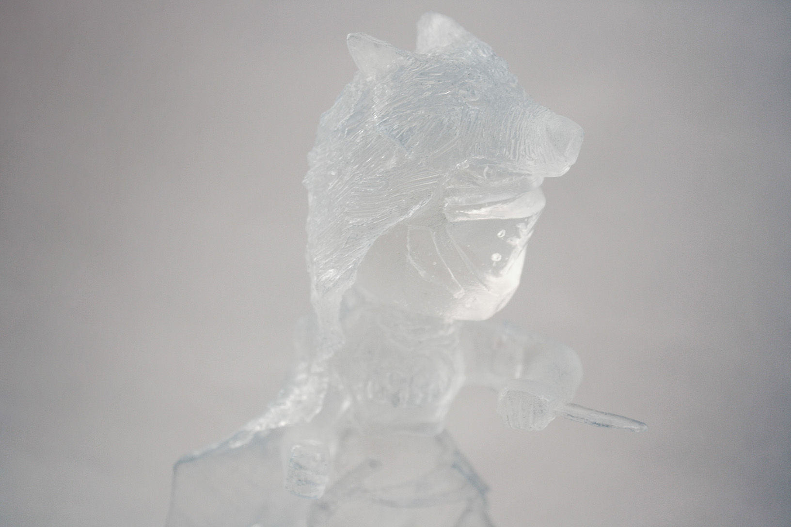 Iron Companion Hunter | Recent Work | Sven.nyc for Clear Resin Sculpture  545xkb